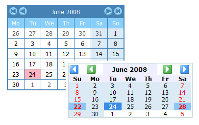 Choisir un calendrier pour son formulaire